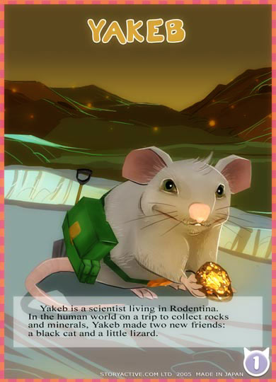 Yakeb the Scientist Explorer Mouse